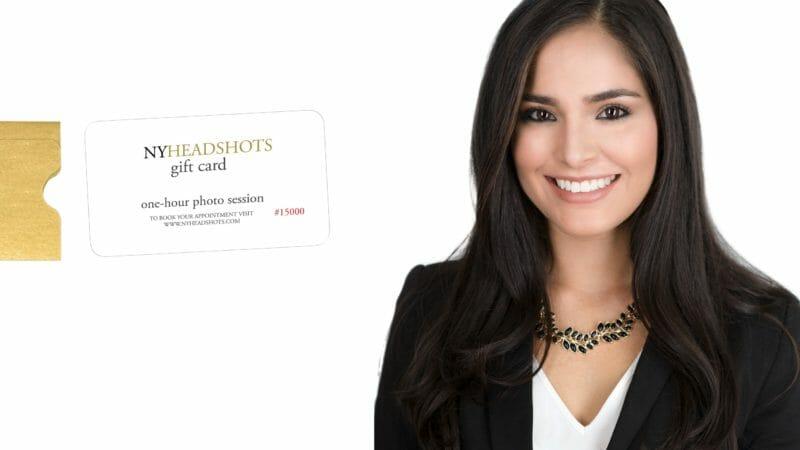 NY Headshots gift cards